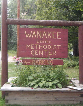 Wanakee Sign