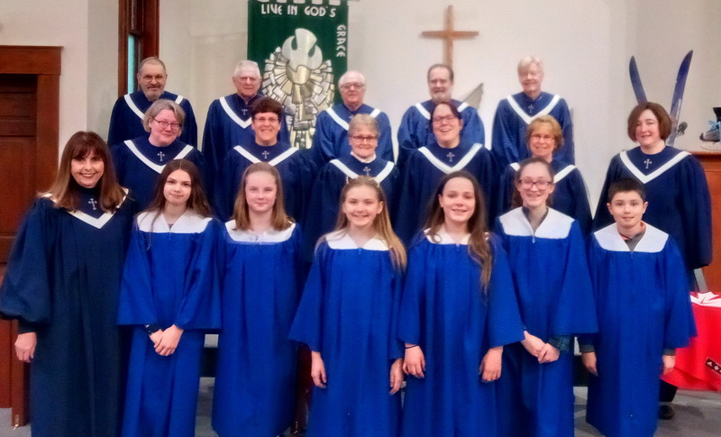 Worship Choir & Young Disciples Choir